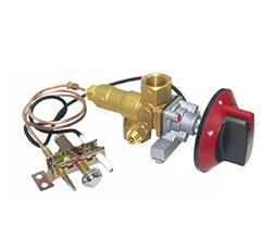 Earth Star 100000BTU LPG/NG Gas Oven Stove Inlet Valve Pilot