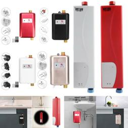 110/220V Mini Electric Tankless Instant Hot Water Heater Kit