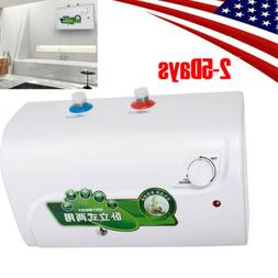 110V 8L Electric Tankless Hot Water Heater Kitchen Bathroom