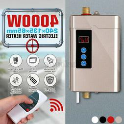 110V Electric Hot Tankless Water Heater Shower Instant Boile