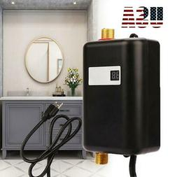110V Mini Instant Electric Tankless Hot Water Heater Shower