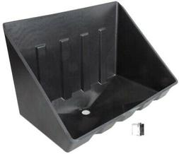 Camco 11470 Tankless Water Heater Drain Pan with PVC Fitting