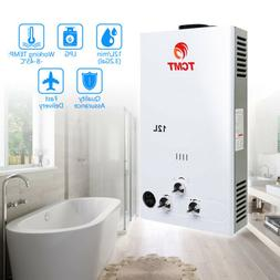12L 3.2GPM Water Heater LPG Gas Propane Tankless Instant Hot