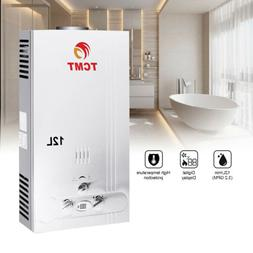 12L NATURAL GAS HOT WATER HEATER 3.2GPM INSTANT BOILER ON DE