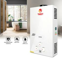 12L NATURAL GAS HOT WATER HEATER INSTANT BOILER Wall-Mounted