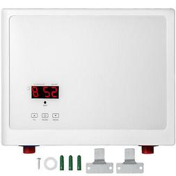 27KW Instant Electric Tankless Hot Water Heater LED Touch Sc