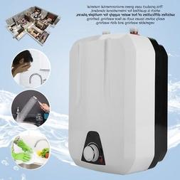 1500W 8L Tankless Electric Instant Hot Water Heater Bathroom