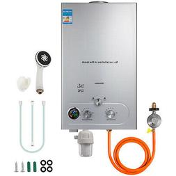 16L Tankless Hot Water Heater Propane Gas 4.3GPM With Shower