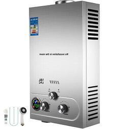 18L 4.8GPM Hot Water Heater Propane Gas Instant Tankless Boi