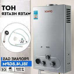 18L 5GPM Lpg Gas Propane Tankless Water Heater Instant Hot W
