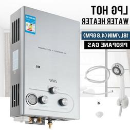 18L 4.8GPM Lpg Gas Propane Tankless Water Heater Instant Hot