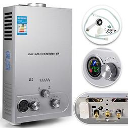 18L Natural Gas Tankless Hot Water Heater Instant On Demand