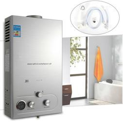 36KW 18L Natural Gas Tankless Hot Water Heater Instant On De