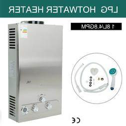 18L Propane Gas LPG Tankless Hot Water Heater 5GPM Instant B