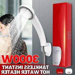 🔥220V Mini Electric Instant Tankless Water Heater 3000W B