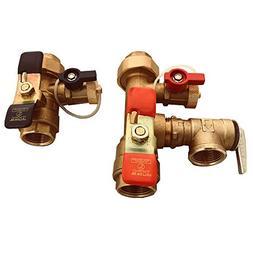 Watts 3/4-LFTWH-FT-HCN-RV Tankless Water Heater Service Valv