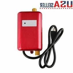 3000W 110V Electric Instant Hot Water Heater Tankless Kitche