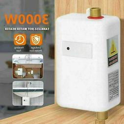 3000W 110V Electric Instant Tankless Hot Water System Heater