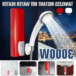 3000W 220V Electric Heater Instant Tankless Water Heater Bat