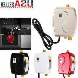 3000W Mini Instant Electric Tankless Hot Water Heater Shower
