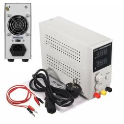 30V 10A Adjustable Switching Regulated DC Power Supply LCD D