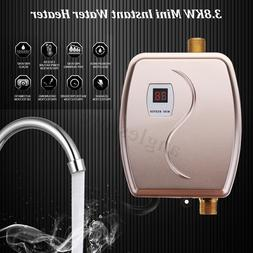 3800W 110V Electric Tankless Instant Hot Water Heater Kitche