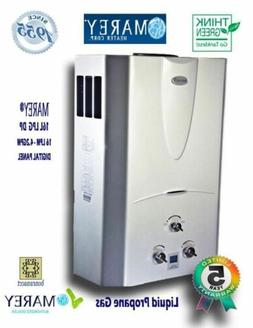 Marey 4.3 GPM Tankless Hot Water Heater Propane Gas Digital