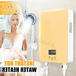 6500W Instant Hot Water Heater Electric Tankless On Demand H