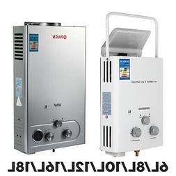 6L/8L/10L/12L/16L/18L LPG Propane Gas Tankless Hot Water Hea
