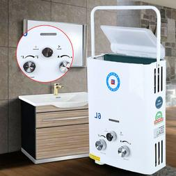 Portable LPG Propane Gas 6L Tankless Hot Water Heater Instan