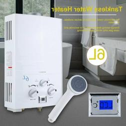 6L Propane Gas Lpg 1.6GPM Instant Hot Water Heater Tankless