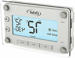 Orbit 83521 Clear Comfort Programmable Thermostat with Large