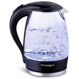 adam electric water kettle 1 7l 57oz