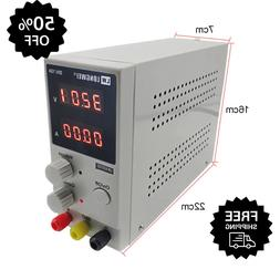 Adjustable Regulated DC Power Supply LCD Dual Digital Displa