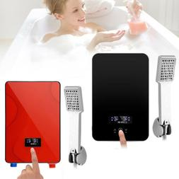 2 Types Tankless Instant Bathroom Electric Hot Water Heater