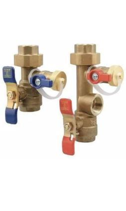 BRAND NEW WATTS LFTWH-FT-HCN Tankless Water Heater Valve Set