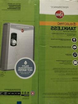 Brand New Sealed RHEEM Electric Tankless Water Heater RETEX-