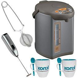 Zojirushi CD-WCC30 Micom Water Boiler & Warmer, Silver 3L In