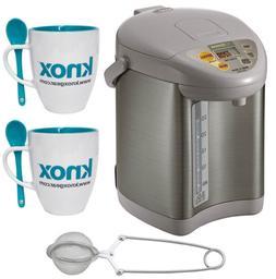 Zojirushi CD-JWC30 Micom Water Boiler and Warmer + Tea Infus