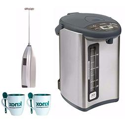 Zojirushi CD-WHC40XH Micom Water Boiler and Warmer, 135 oz,