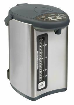 Zojirushi CD-WHC40XH Micom Water Boiler and Warmer, 135 oz,