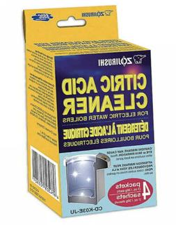 Zojirushi CITRIC ACID CLEANER for electric water boilers CD-