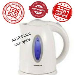 Ovente Cordless Electric Tea Kettle Stainless Steel 120V 110