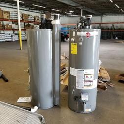 Rheem Direct Vent power vent 50 gallon gas water heater