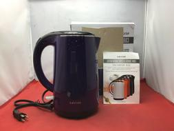 Secura Double Wall Stainless Steel Electric Kettle Water Hea