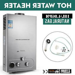 18L/4.8GPM Natural Gas Hot Water Heater Tankless Fashionable