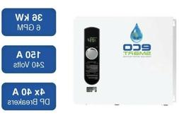 EcoSmart ECO36 36 kW 240V Self-Modulating Electric Tankless