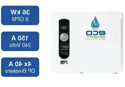 EcoSmart ECO36 36 kW 240V Self-Modulating Electric Tankless