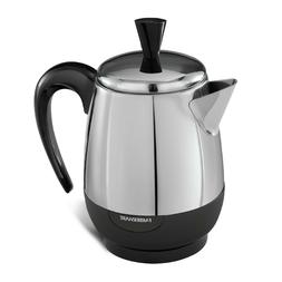 Electric Coffee Percolator 2-8 Cup Stainless Steel Water Hea