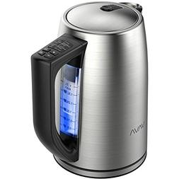 VAVA 1.7 Liter Electric Kettle Adjustable Temperature Contro